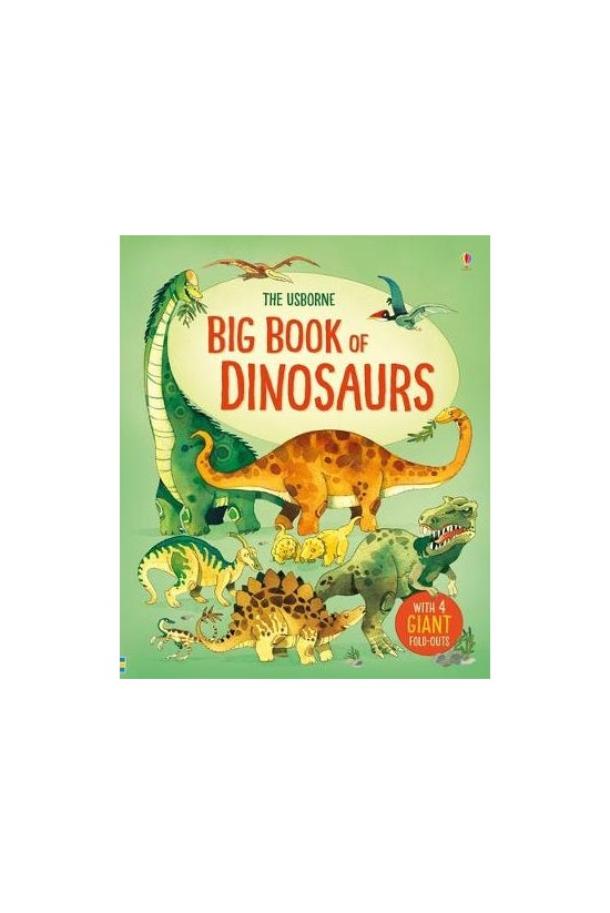 Usborne Big Book Of Dinosaurs