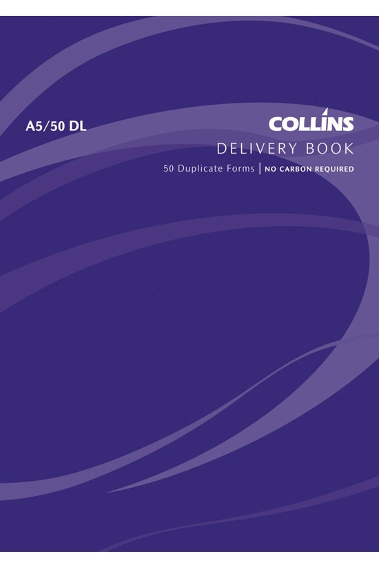 Collins Goods Delivery Book A5...