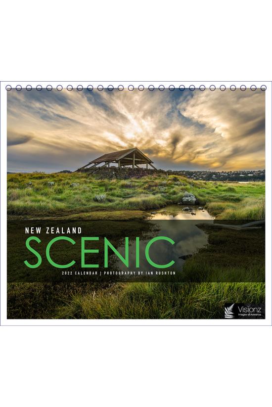 2022 Desk Calendar New Zealand...
