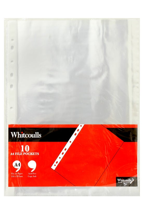Whitcoulls Copysafe Pockets Cl...