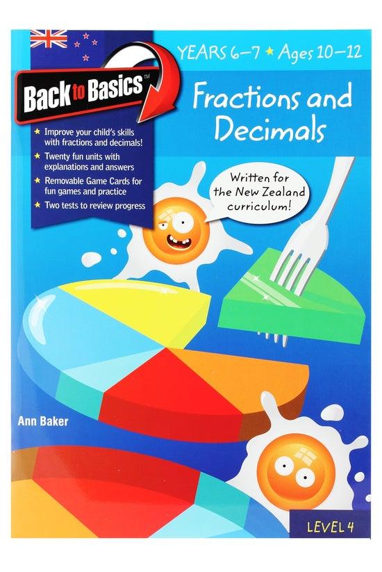 Back To Basics Years 6-7 Fract...