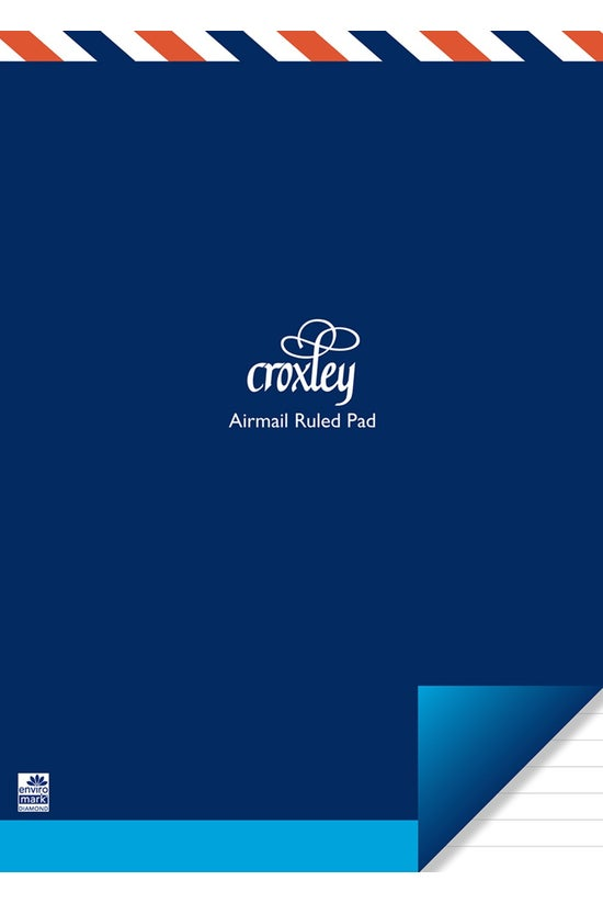 Croxley Pad Airmail Size 2 Rul...