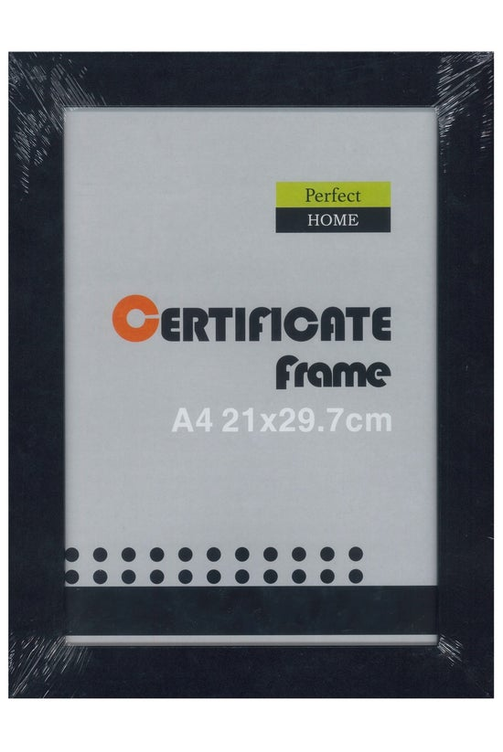 Perfect Home Certificate Frame...