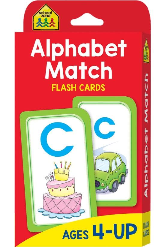 School Zone: Alphabet Match Fl...