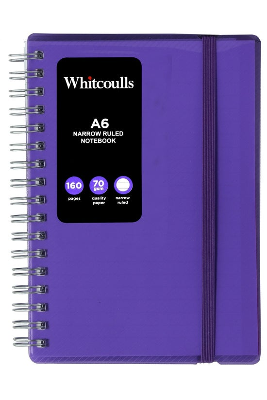 Whitcoulls A6 Narrow Ruled Not...