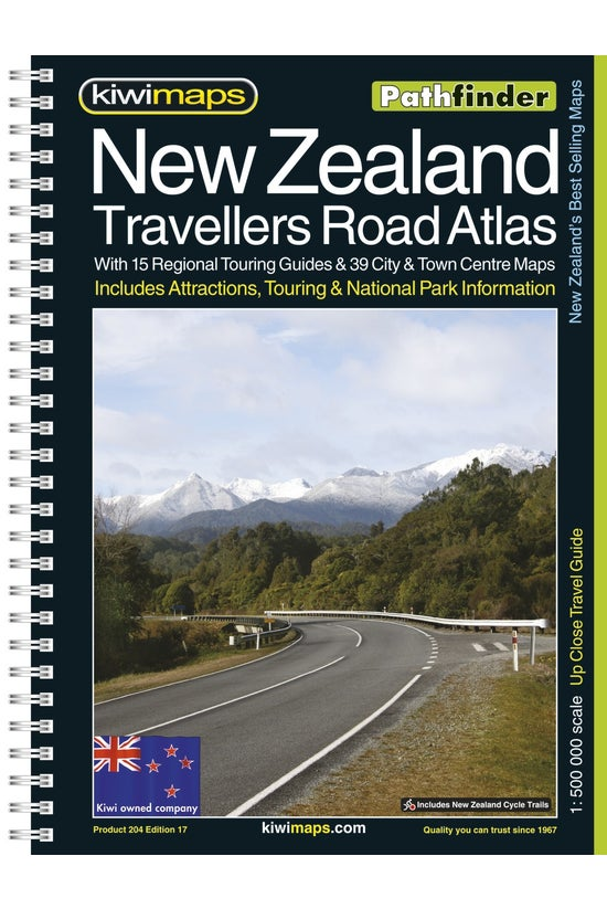 Kiwi Maps New Zealand Travelle...