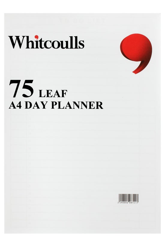 Whitcoulls Day Planner Pad A4 ...