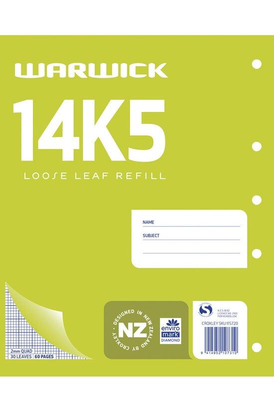 Warwick 14k5 Quad Refill