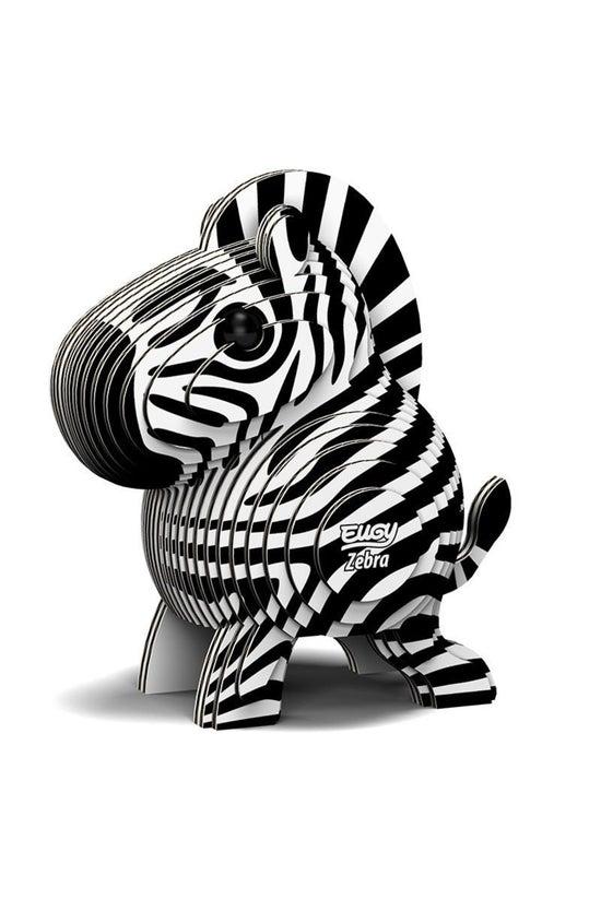 Dodoland Eugy 2 Cardboard Zebr...