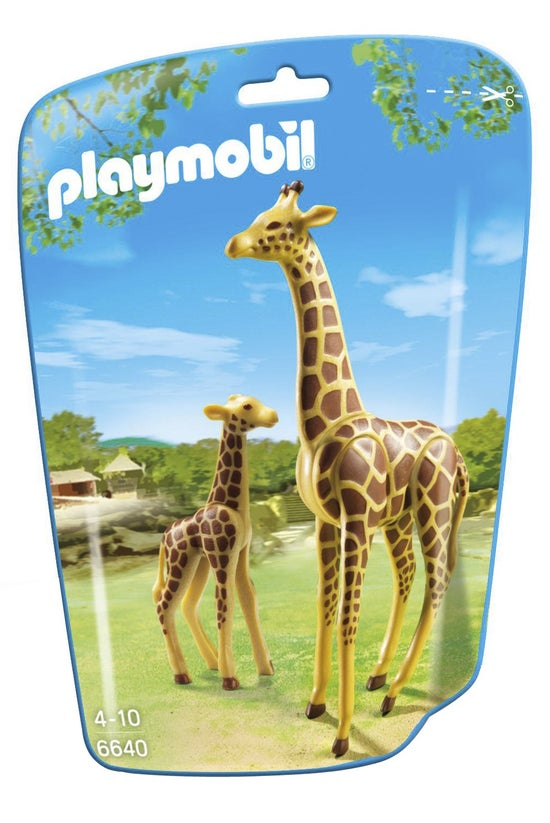 Playmobil Giraffe With Calf 66...