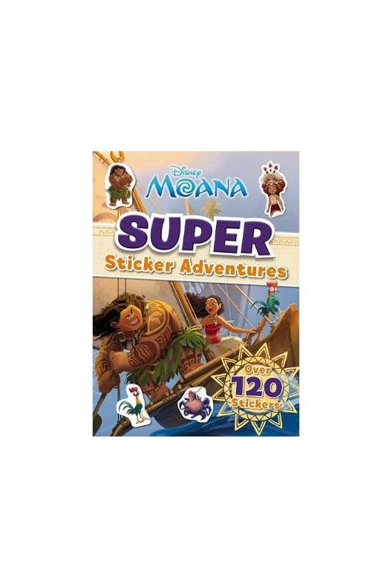 Moana Sticker Activity Bk