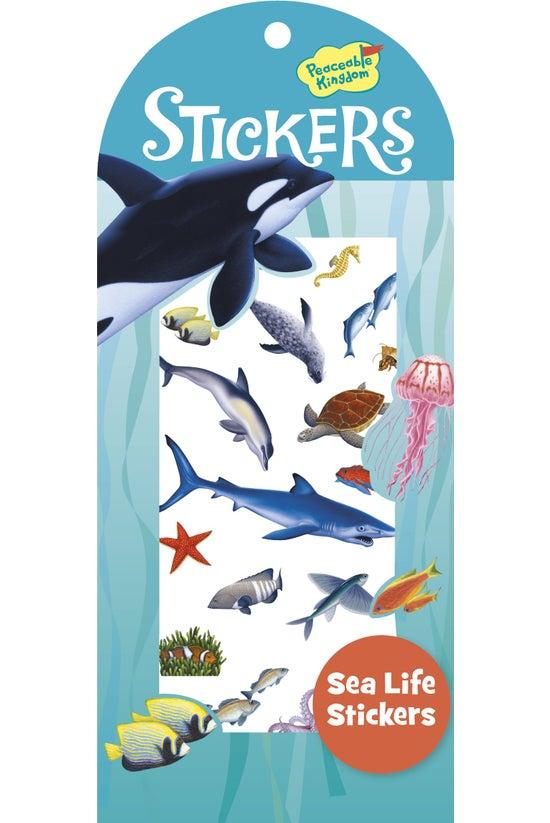 Peaceable Kingdom Stickers Sea...