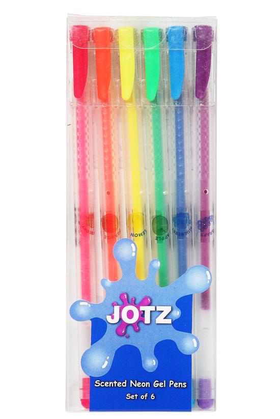 Jotz Neon Gel Pens Scented Pac...