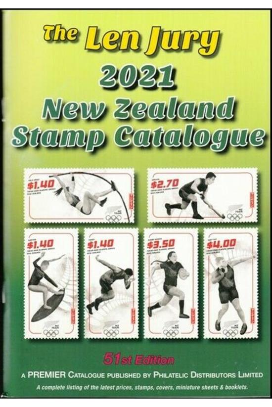 Len Jury New Zealand Stamp Cat...