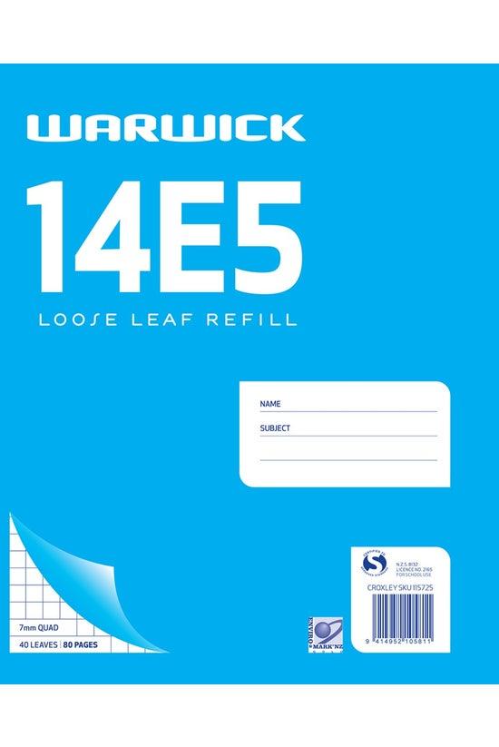 Warwick 14e5 Quad Refill 7mm