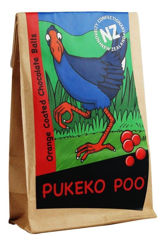 Chocolate Pukeko Dropping