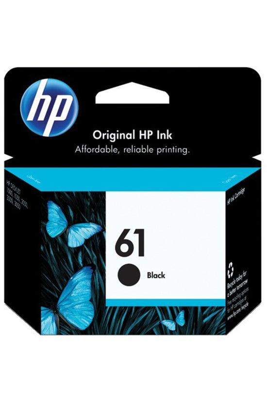 Hp Ink Cartridge 61 Black