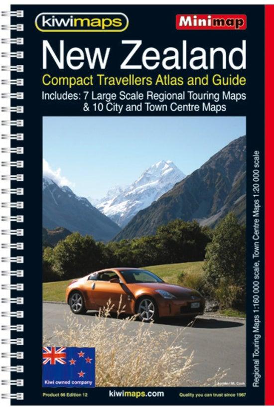 New Zealand Touring Atlas A5 B...