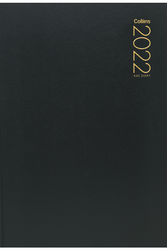 2022 Diary Collins A42 Two Day...