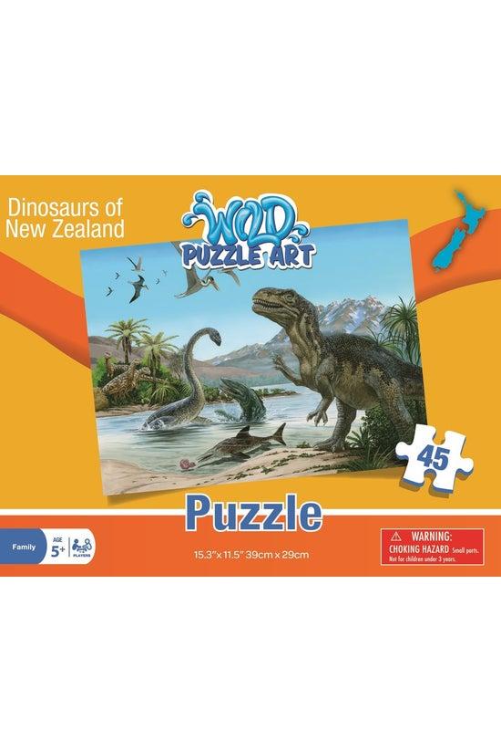 Wild Art Dinosaurs Of New Zeal...