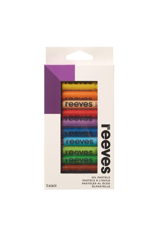 Reeves Oil Pastels Pack Of 12