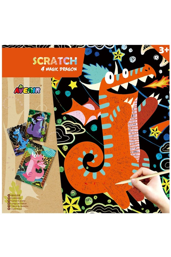 Avenir Scratch Art Magic Assor...