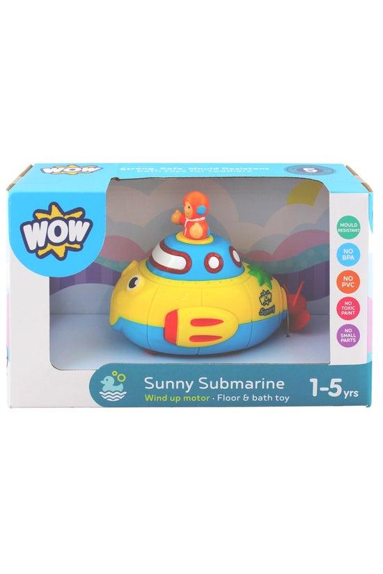 Wow Sunny Submarine Bath Toy