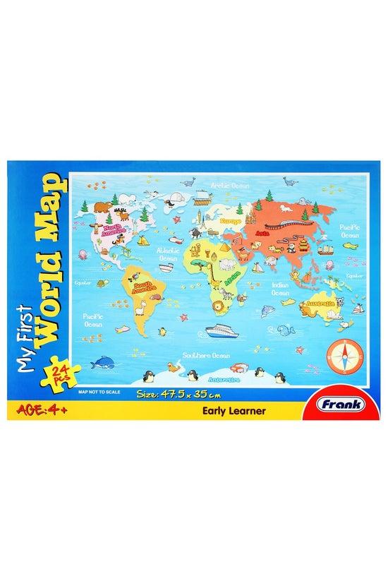 Frank My First World Map Jigsa...
