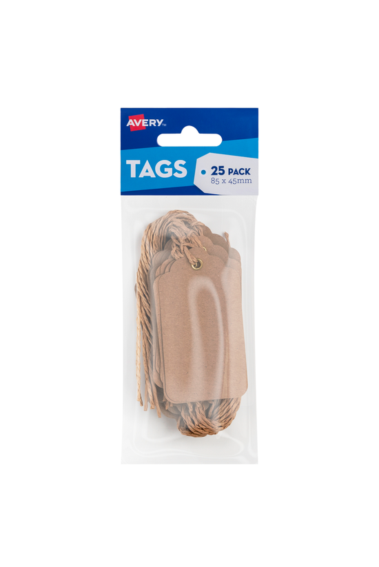 Avery Scallop Tags 84mm X 45mm...