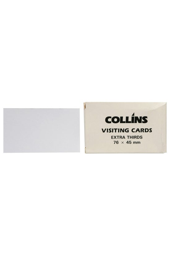 Collins Visiting Cards Extra T...