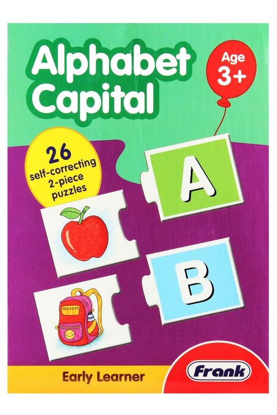 Frank Alphabet Capital Puzzle ...