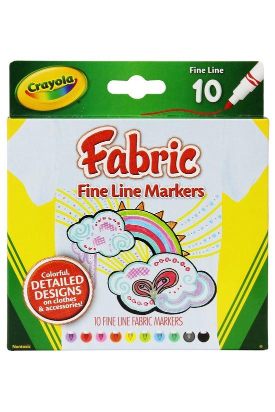 Crayola Fabric Fine Line Marke...