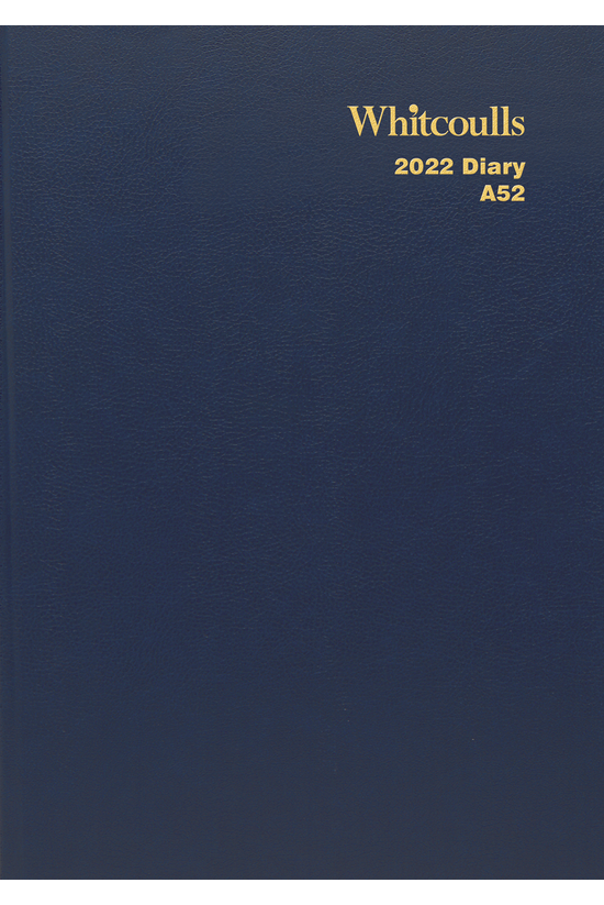 2022 Diary Whitcoulls A5 Two D...