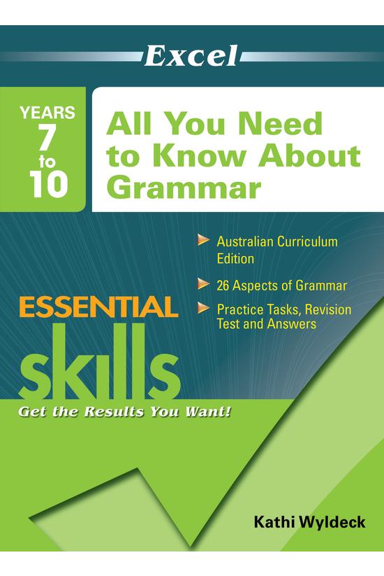 Excel Essential Skills Years 7...