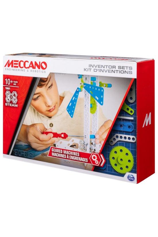 Meccano Inventor Geared Machin...