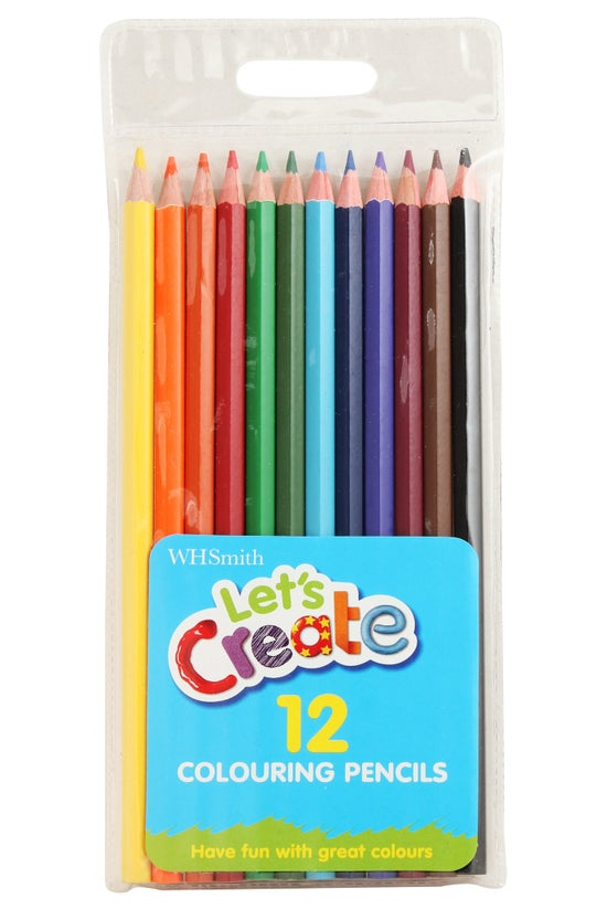 Whsmith Colouring Pencils Pack...