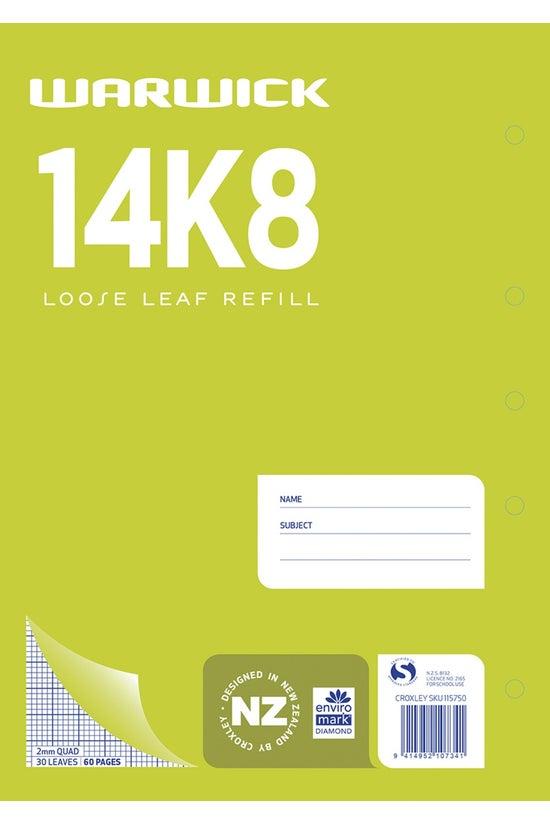 Warwick 14k8 Quad Refill 2mm 3...