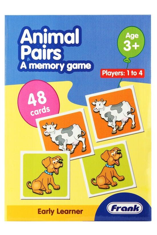 Frank Animal Pairs Memory Game