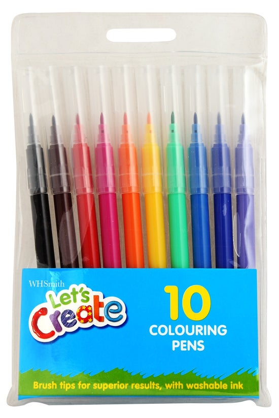 Wh Smith Washable Colouring Pe...