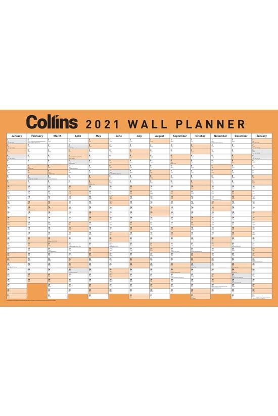 2021 Collins Wallplanner A3
