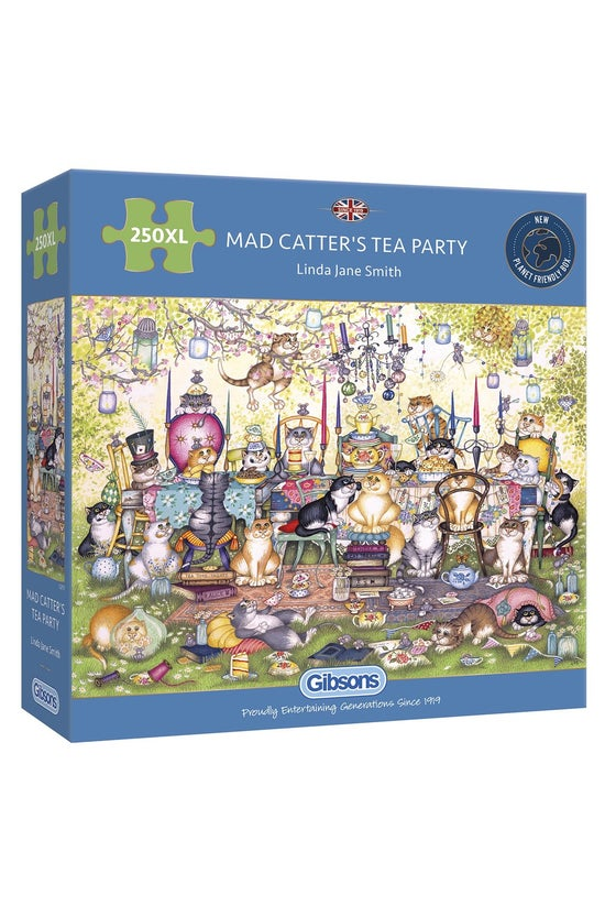 Gibsons Jigsaw Mad Catter's Te...