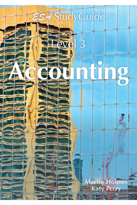 Ncea Level 3 Accounting Study ...