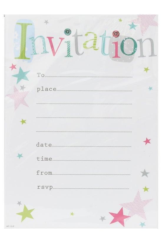 Invitation Pad & Envelope ...