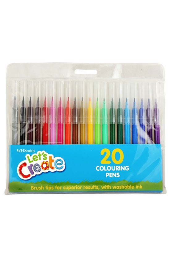 Whsmith Colouring Pens Pack Of...