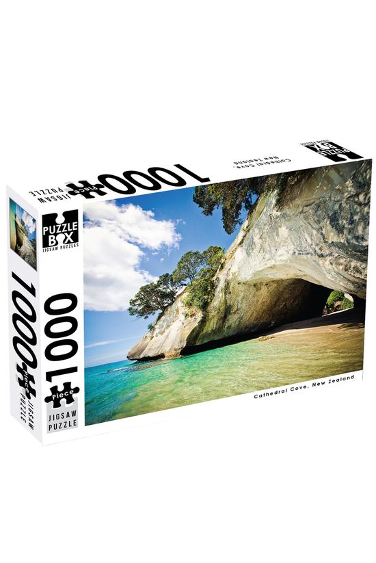Puzzle Box Cathedral Cove, Cor...