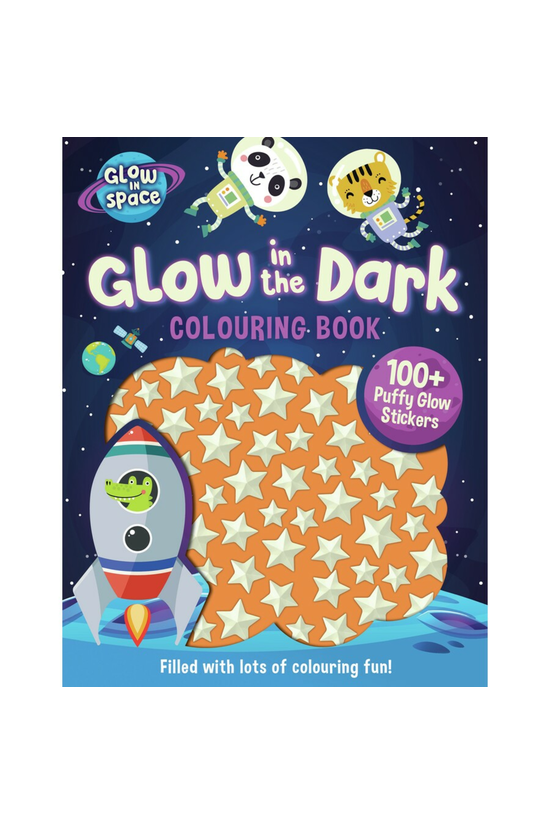 Glow In Space Colouring Book W...