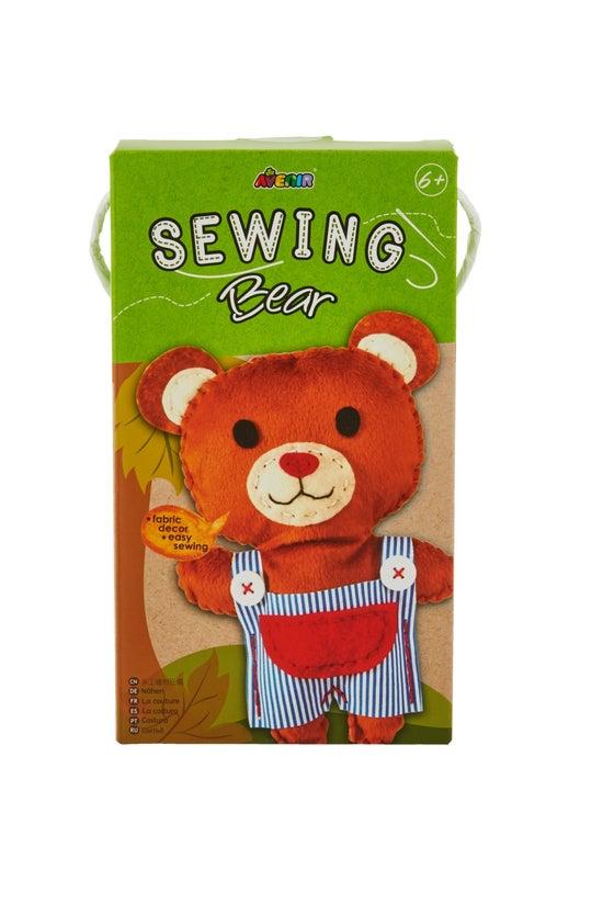 Avenir Sewing Doll Kit Bear