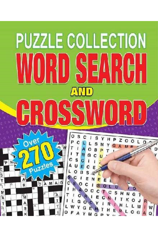 Spiral Word Search And Crosswo...