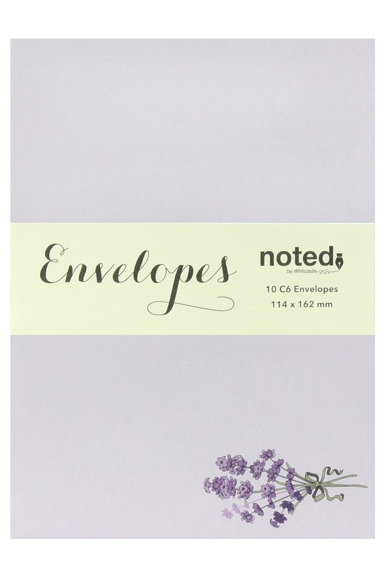 Noted Envelopes C6 Lavender Pa...