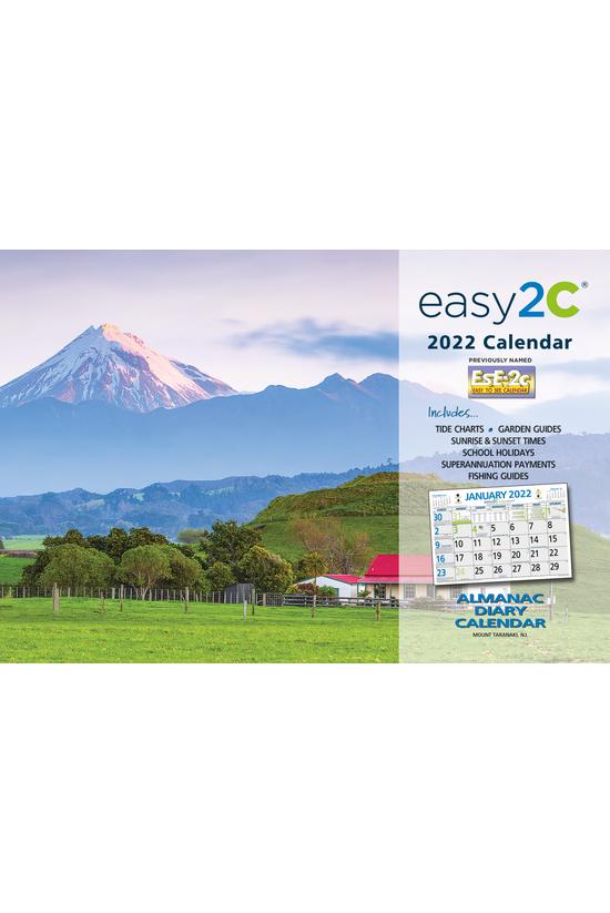 2022 Wall Calendar Ese-2c